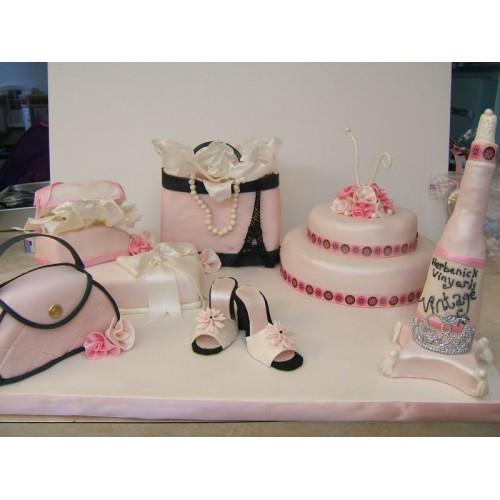 Торт на день рождения 7