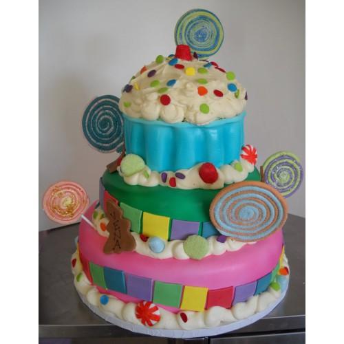 Торт на день рождения 9