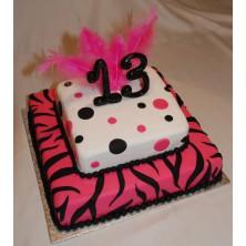 Торт на день рождения 15
