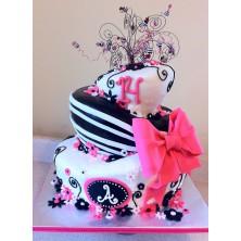 Торт на день рождения 16