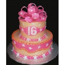 Торт на день рождения 17