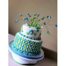 Торт на день рождения 18