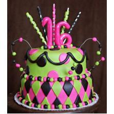 Торт на день рождения 19