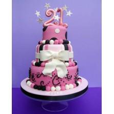 Торт на день рождения 21