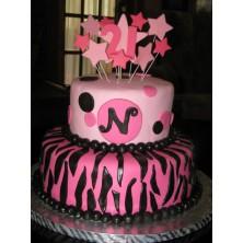 Торт на день рождения 22