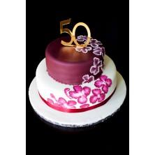 Торт на день рождения 25