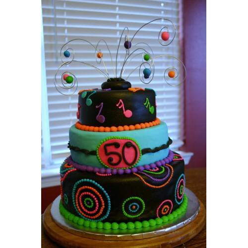 Торт на день рождения 26