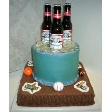 Торт с пивом