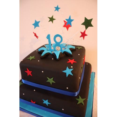 Торт на день рождения 35