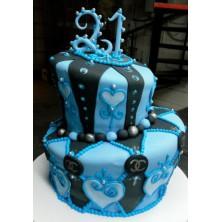Торт на день рождения 36