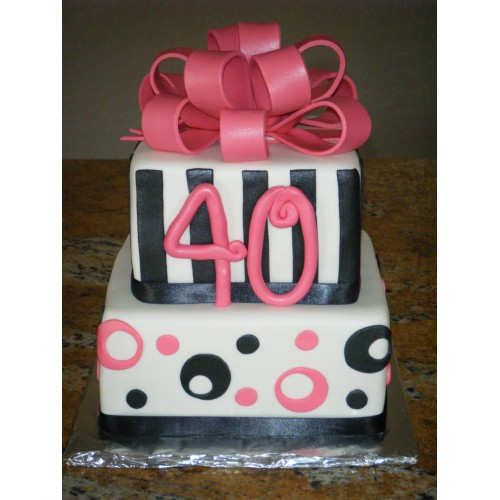 Торт на день рождения 39