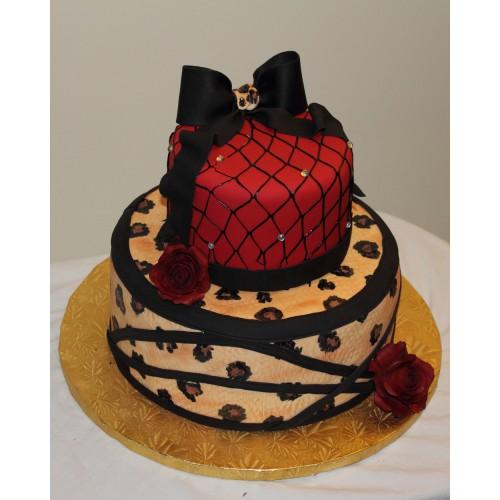 Торт на день рождения 40
