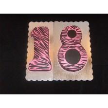 Торт на день рождения 42