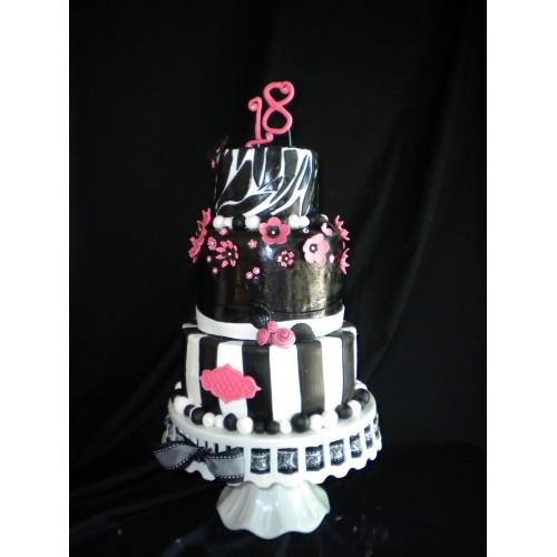Торт на день рождения 44