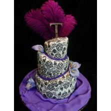 Торт на день рождения 46