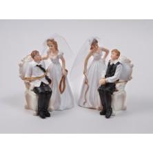 Свадебная фигурка на торт 3