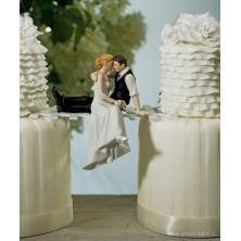 Свадебная фигурка на торт 8