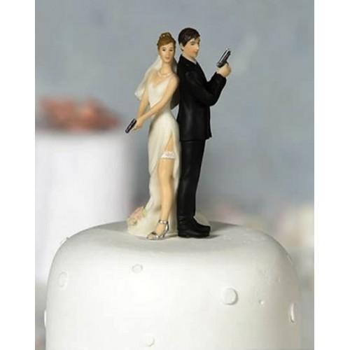 Свадебная фигурка на торт 9