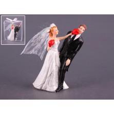 Свадебная фигурка на торт 10