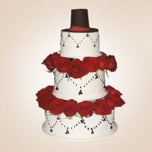 Свадебный торт Шляпка