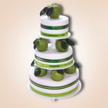 Свадебный торт Яблочный